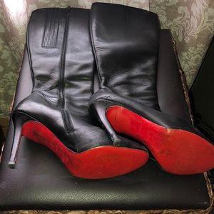 Christian Louboutine Heeled Boots!